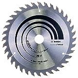 Bosch 2608642602 Lame de scie circulaire optiline wood 165 x 20/16 x 1,7 mm 36