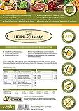 Heide-Schmaus – Weidelamm 7,5 kg Kaninchenfleisch – Getreidefrei (7,5 Kg) - 3