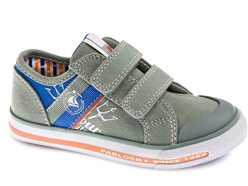 Zapatillas De Lona Niño Pablosky Verde 962091 33