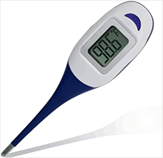 Baby Digital Thermometer - Quick 30-60 Seconds Reading for Oral, Rectal, Armpit Underarm, Body Temperature Clinical Professional Detecting Fever Baby, Infant, Kid, Babies, Children Adult and Pet