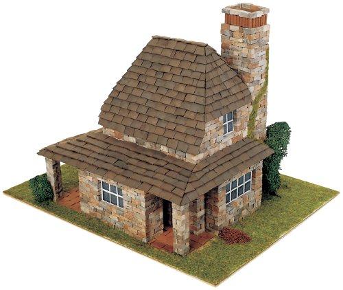 DOMUS Kits Domus Kits40042 2445 Teile Country 2 Haus Modell, Maßstab 1:50, Mehrfarbig