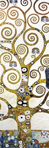 1art1 Gustav Klimt - Der Lebensbaum (Detail) Selbstklebende Fototapete Poster-Tapete 240 x 75 cm