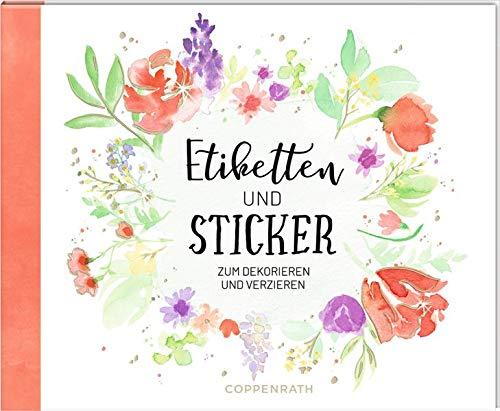 Stickerbuch - Etiketten und Sticker: Zum Dekorieren und Verzieren