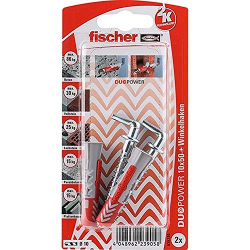 Fischer DUOPOWER 10x50 WH K (2) Art. 535220 Menge: 1