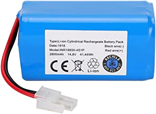 Zopsc 14.8V 2800Mah High Capacity Replacement Lithium-ion Battery for Ilife A4 A4S A6 V7 Robot Vacuum Cleaner, No Memory Effect