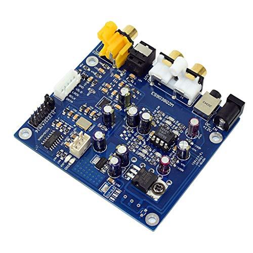 Non-brand YJ-ES9038 Q2M I2S DSD Entrada coaxial Fibra