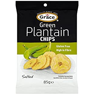 Grace Plantain Chips Green 85g x 6:Isfreetorrent