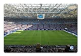 K&L Wall Art Glasbild - Schalke Arena - Innenansicht -