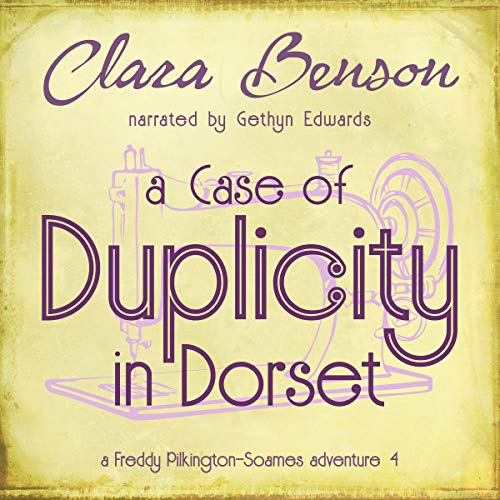 A Case of Duplicity in Dorset audiobook cover art