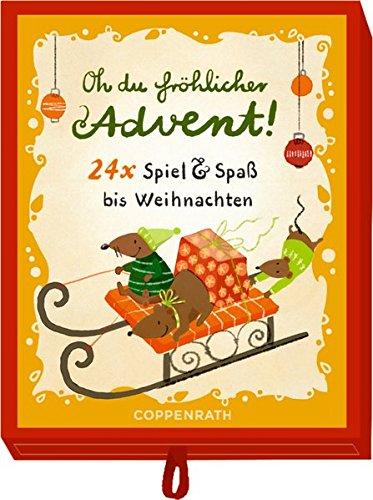 Schachtelspiel - Oh du fröhlicher Advent!: 24 x Spiel & Spaß bis Weihnachten
