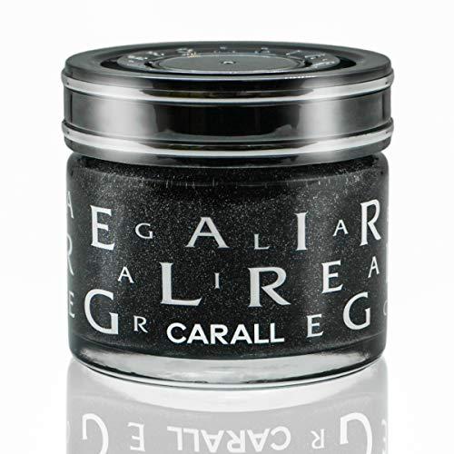 CARALL Regalia Velvet Musk elegantes Auto Parfüm im edlen Duftglas 65ml Auto Lufterfrischer als Duft Gel ein hochwertiges Auto Accessoire