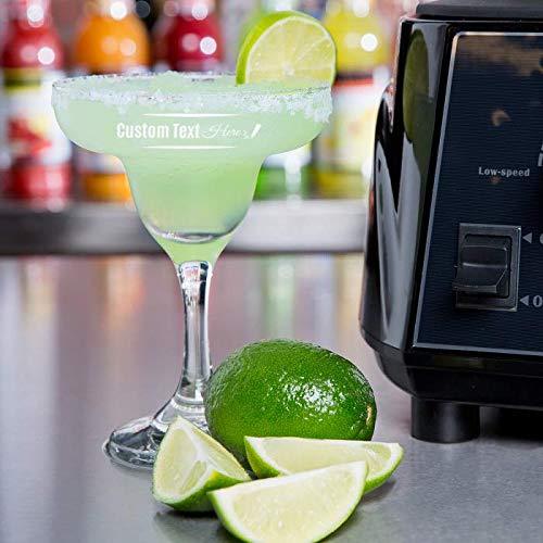 Personalized Core Margarita Glass