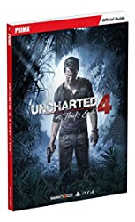 Uncharted 4 - A Thief's End Standard Edition Strategy Guide de Prima Games