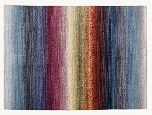 JINGLE LINE moderner Designer Teppich in multicolor, Größe: 200x300 cm