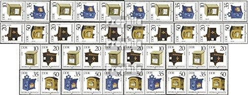 Prophila Collection DDR WZd617-624, SZd280-287 (kompl.Ausg.) 1985 Briefkästen (Briefmarken für Sammler)