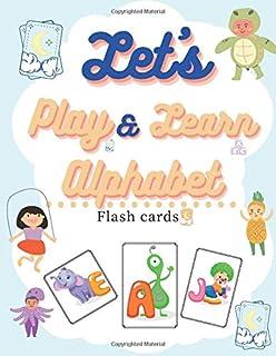 Let's play & learn alphabet flash cards