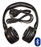 Kid Size Bluetooth Headphones Wireless and Wired Autotain Cloud Super Soft