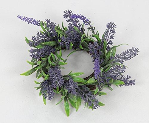 Deko Kranz Lavendel klein Ø 15cm