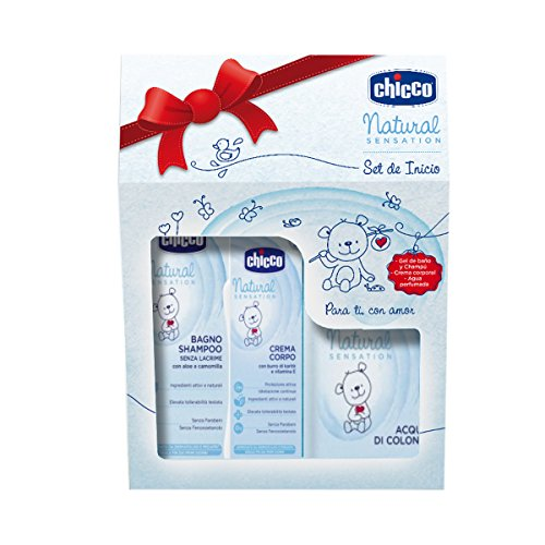 Chicco Natural Sensation - Set da toeletta
