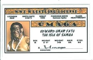Umaga - WWE - Collector Card