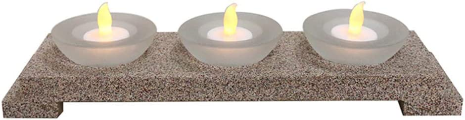 OSALADI 1 Set Oakland Mall LED Special price Candle Stand Light Holder Realistic