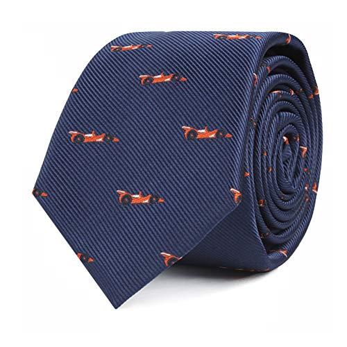 Racing Car Fan Tie for Men Race Car Neckties for Him | Nazcar F1 Fan Race | Work Ties for Him | Bday Present for Guys (Racing Car)