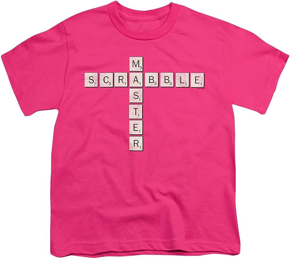 Scrabble Scrabble Master Unisex Youth T Shirt