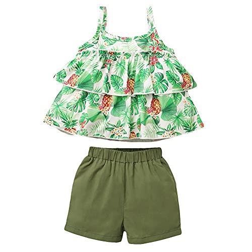 Maacie Baby dziewczynka two pieces lato strój dla niemowląt dziewczynki zestaw ubranka dla niemowląt dla dziewczynki MCX023S21LZY
