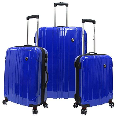 Sedona 3-Piece Expandable Spinner Luggage Set 29 x 21 x 11.5; 25 x 18 x 10.5; 21 x 14.5 x 9