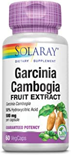 Solaray - Potency Garcinia Cambogia Extract 500 Mg. 60 Vegetarian