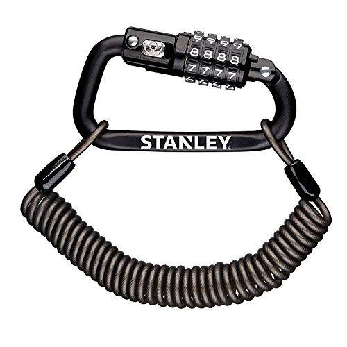 Stanley S744-030 Candado de Mosquetón, Negro