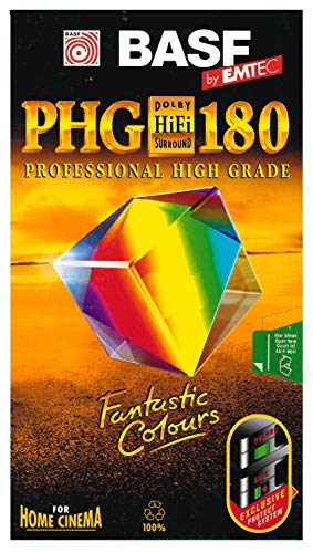Emtec E 180 PHG HiFi VHS High Grade
