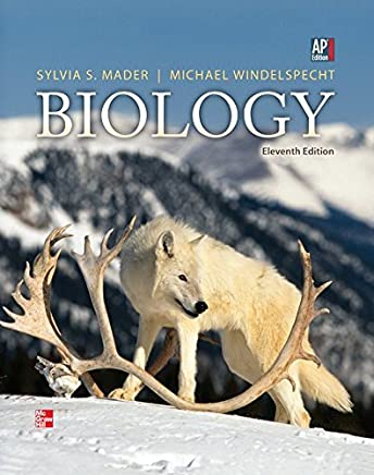 Mader, Biology ?? 2013, 11e, AP Student Edition (Reinforced Binding) (AP BIOLOGY MADER) by Sylvia Mader (2012-01-06)