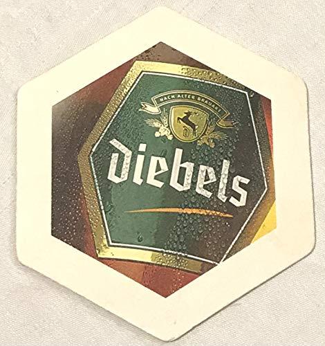 Diebels Alt Bierdeckel Untersetzer Unterlage Pappdeckel Bierfilz - 20 stück