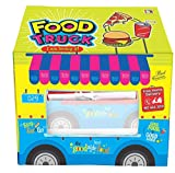 Toy Street Kids Polyster Food Truck Tent House Extremely Light Weight , Water & Fire Proof Tent House (Jumbo Size)