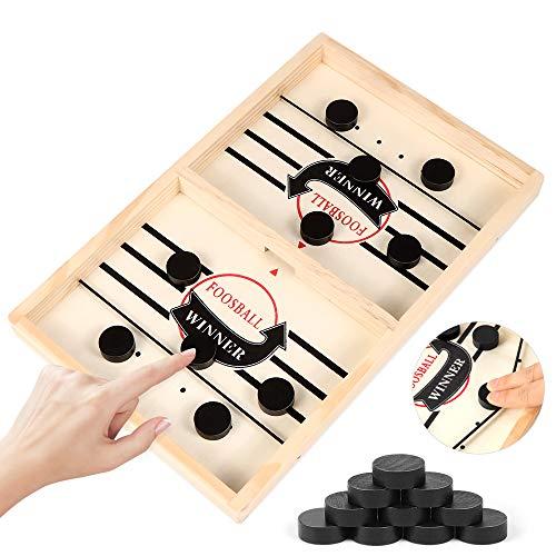 Zaloife Brettspiel Hockey, Katapult Brettspiel, Bouncing Hockey, Bouncing Brettspiel, Fast Sling Puck Game, Bouncing Chess Hockey Game, Hockey Brettspiel, Interaktives...