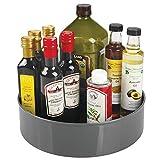mDesign Plato giratorio para estantes de cocina – 29,2 cm de diámetro –...