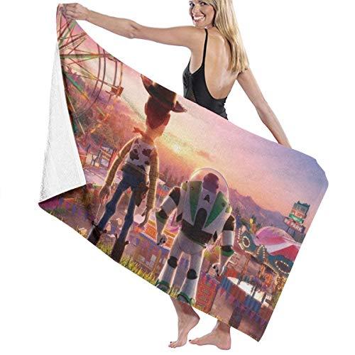 SJPillowcover Toy Story - Toalla de baño supersuave absorbente para playa, piscina, camping, deportes, etc. Talla única