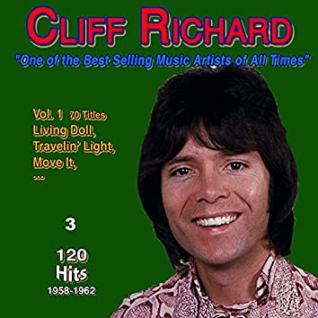 """Cliff Richard """"One of the Best-Selling - Music Artists of All Times"""" (120 Hits 1958-1962)"""