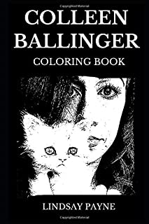 Colleen Ballinger Coloring Book: Legendary Actress behind Miranda Sings Character and Famous YouTube Personality, Acclaimed Comedian and Writer Inspired Adult Coloring Book (Colleen Ballinger Books)