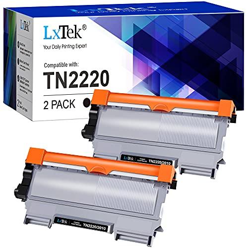LxTek TN-2220 TN-2010 TN2220 TN2010 Cartucce di Toner Compatibili per Brother MFC-7360N 7460DN 7860DW DCP-7065DN 7060D 7055 FAX-2840 2845 2940 HL-2130 2132 2230 2135W 2240 2240D 2250DN 2270DW 2280DW
