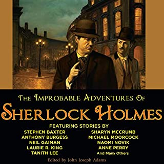 The Improbable Adventures of Sherlock Holmes audiobook cover art