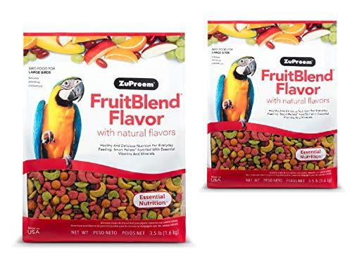 ZuPreem FruitBlend Flavor Pellets Bird Food...