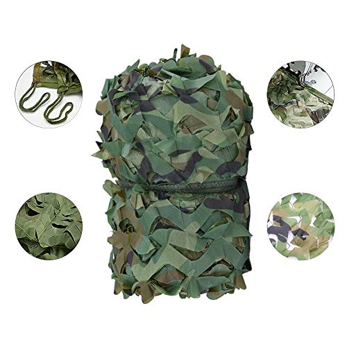 Filit Camouflage net,terrace sunscreen net,environmental protection material,hidden,used for hunting/military/decoration/garden/tent/playground,2M 3M 4M 6M 8M,7mx7m(23 * 23ft)
