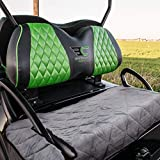 Golf Cart Seat Covers, Golf Cart Seat Blanket for Most 2-Person Seats Club Car, Travel Sports Classic Essential Accessories Golf Cart Seat Blanket