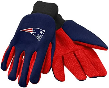 Forever Collectibles 74211 NFL New England Patriots Colored Palm Glove product image