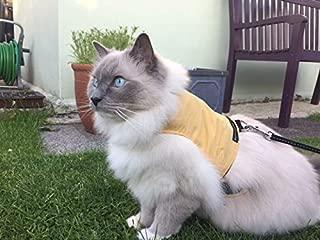 Mynwood Cat Jacket/Harness Caramel Adult Cat - Escape Proof