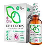 Bio Origins Drops for Women & Men, Diet Drops for Weight Management, Key Active Ingredients Niacin and Powerful...