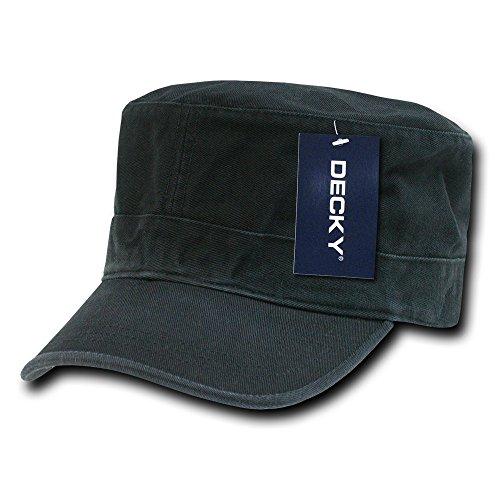 DECKY Washed GI Cap, Black