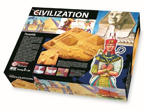 Le coffret de loisirs créatifs Civilization pour fan de l'Égypte Antique